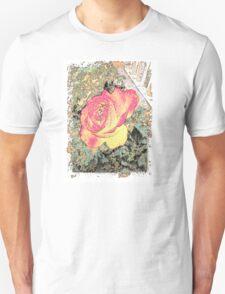 Storybook Briar Rose Pattern T-Shirt