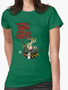 Tank this... Womens Fitted T-Shirt