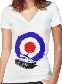 Tank Target Women's Fitted V-Neck T-Shirt