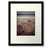 Blue Lagoon Memories Framed Print