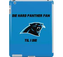 Die Hard Panther Fan ´til I Die iPad Case/Skin
