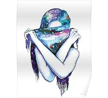 Galaxy Girl Poster