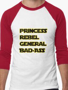 Princess Leia: A Summary Men's Baseball ¾ T-Shirt