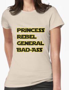 Princess Leia: A Summary Womens Fitted T-Shirt