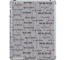 """Re sil ience""© iPad Case/Skin"