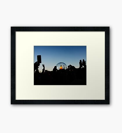 Flaming Lips Framed Print