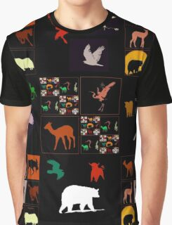 For All The Animals Graphic T-Shirt