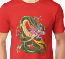 colorful Japanese dragon Shenlong  Unisex T-Shirt