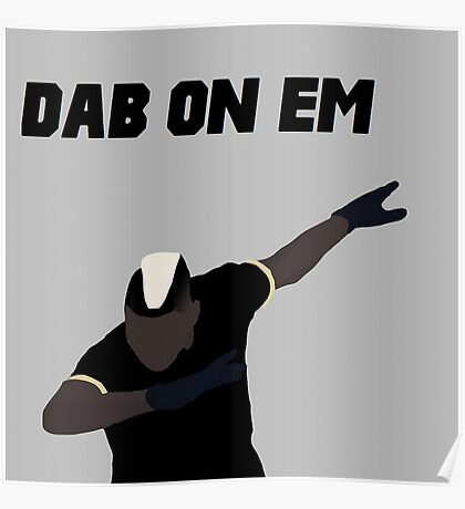 Pogba - Dab on Em Celebration minimalist Poster