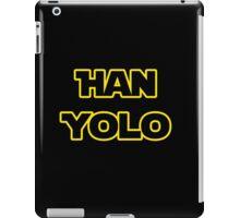 Han Solo #yolo iPad Case/Skin
