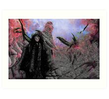 The Black Witch's Cave Art Print