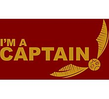 I'm a Captain - Yellow ink Photographic Print