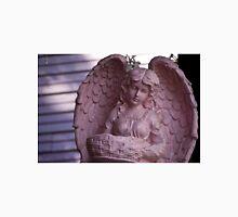 Pink Angel Statue Unisex T-Shirt