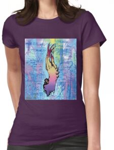 Hand of Taboo  Womens Fitted T-Shirt