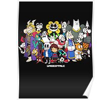 Undertale - All characters Poster