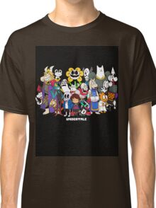 Undertale - All characters Classic T-Shirt