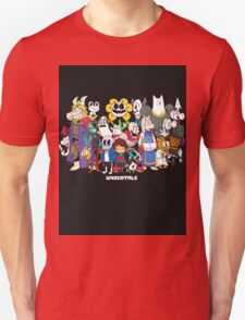 Undertale - All characters Unisex T-Shirt