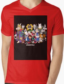 Undertale - All characters Mens V-Neck T-Shirt