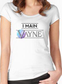 I Main Vayne Women's Fitted Scoop T-Shirt