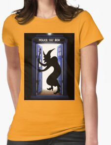 witch in the tardis halowen T-Shirt