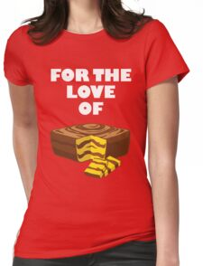 Love Mom's Cakes Womens Fitted T-Shirt