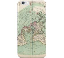 AE MAP Flat Earth iPhone Case/Skin