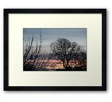 The Dawn of Nature Framed Print