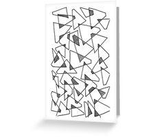 Triangular Greeting Card