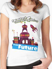 Splatfest Team Future v.1 Women's Fitted Scoop T-Shirt
