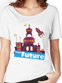 Splatfest Team Future v.2 Women's Relaxed Fit T-Shirt