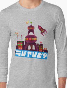 Splatfest Team Future v.4 Long Sleeve T-Shirt