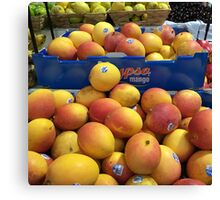 Australian Mangoes Must Be From Heaven Canvas Print