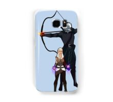 Dungeons and Dragons Characters - Fae and Talion Samsung Galaxy Case/Skin