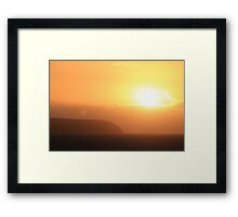 Carrickalinga Sunset #10 Framed Print