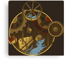 Mouse Works Canvas Print