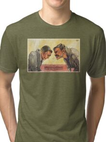 There will be Drainage Tri-blend T-Shirt
