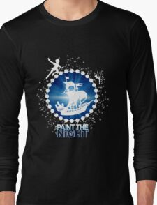 Paint the Night - Second Star to the Right Long Sleeve T-Shirt