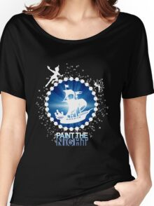 Paint the Night - Second Star to the Right Women's Relaxed Fit T-Shirt