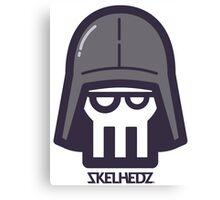 Darth SKELHEDZ Canvas Print