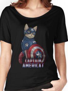 Captain Americat Women's Relaxed Fit T-Shirt