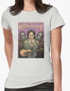 Jeff Buckley Womens Fitted T-Shirt