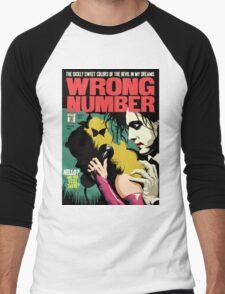 Wrong Number Men's Baseball ¾ T-Shirt