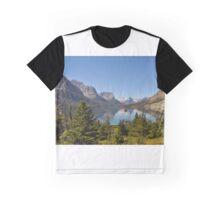 Saint Mary Lake & Wild Goose Island Graphic T-Shirt