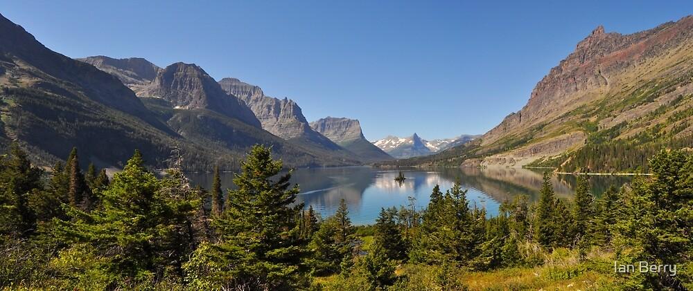 Saint Mary Lake & Wild Goose Island by Ian Berry