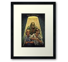 Rust and Marty visit Carcosa Framed Print