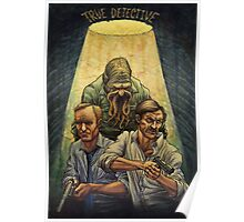 Rust and Marty visit Carcosa Poster