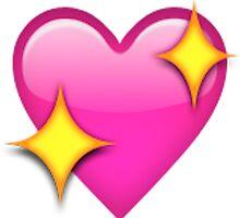 Sparkle Heart Emoji by sadgurl00