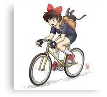 Kiki's Bike Messenger Service Metal Print