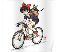 Kiki's Bike Messenger Service Poster