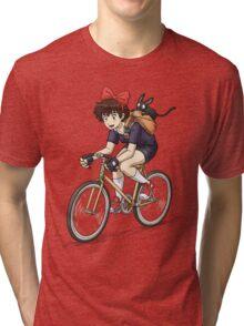 Kiki's Bike Messenger Service Tri-blend T-Shirt